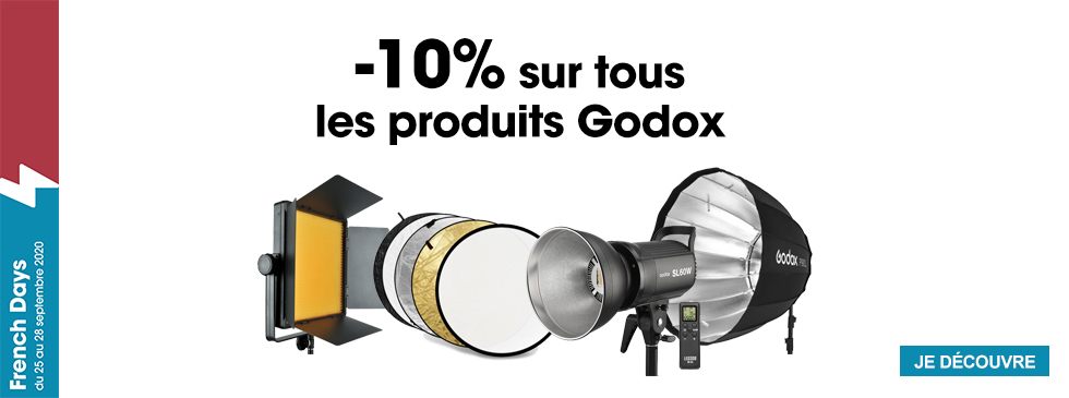 French Days -10% Godox